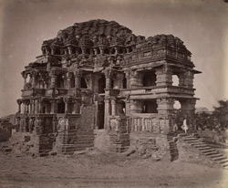 General view of the Great Sasbahu Temple, Gwalior 10031446